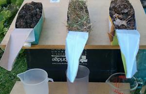 Erosion modelling and fertiliser run off